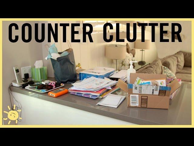ORGANIZE   Counter Clutter!