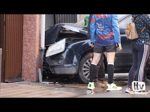 VÍDEO: Las imágenes del accidente de tráfico en el cruce de las calles Palenciana y Benamejí