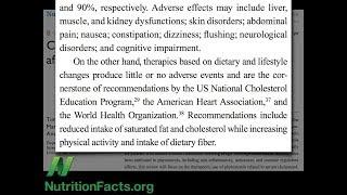 Dieta vs. léky na cholesterol