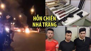 Rợn người với kho vũ khí trong vụ 60 người hỗn chiến ở Nha Trang