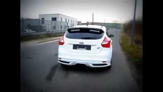 Ford Focus ST mit SUPERSPORT Sportauspuffanlage