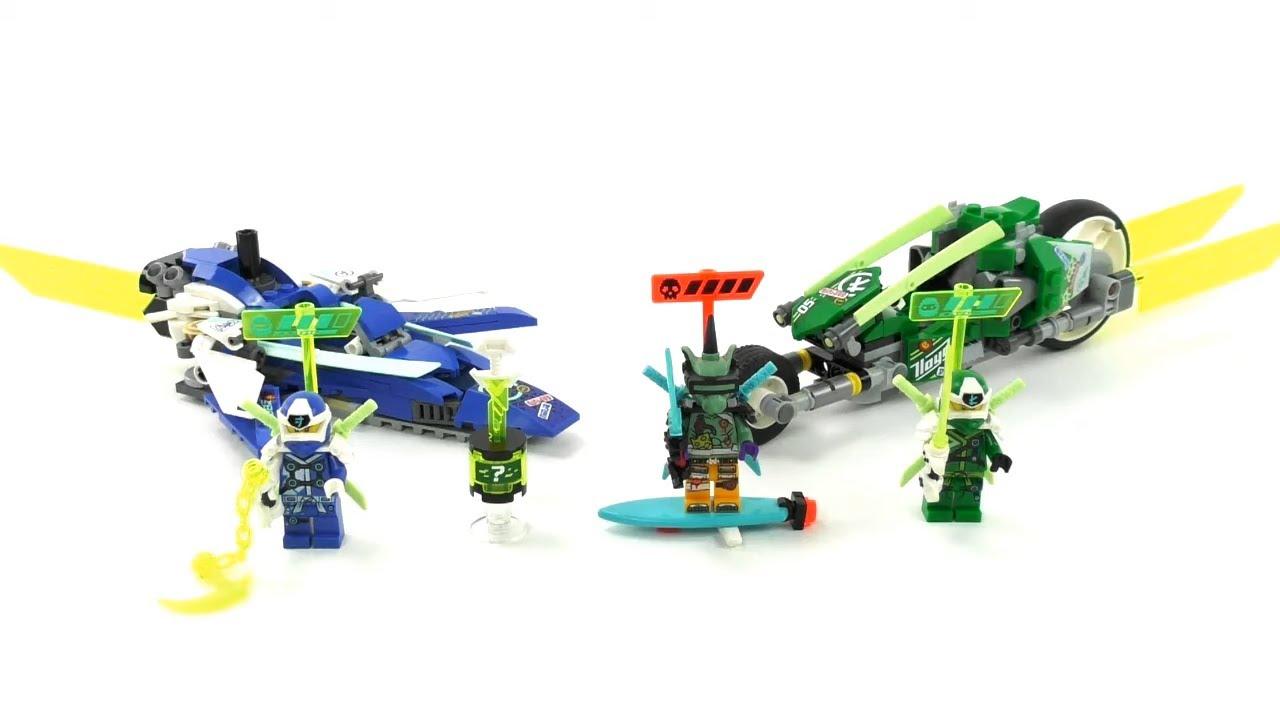 Download LEGO Ninjago 2020 Set 71709 - Jay und Lloyds Power-Flitzer / Unboxing & Review deutsch