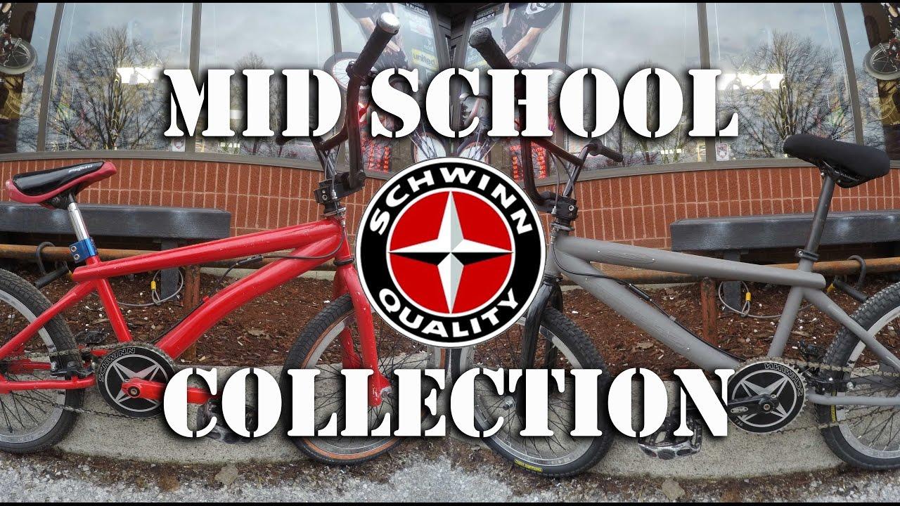 My Mid School 2000's Schwinn Collection @ Harvester Bikes