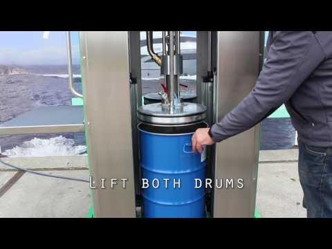 Epoxy filler mixing machine