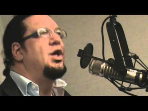 Penn Jillette with KIRO Radio's Tom Tangney