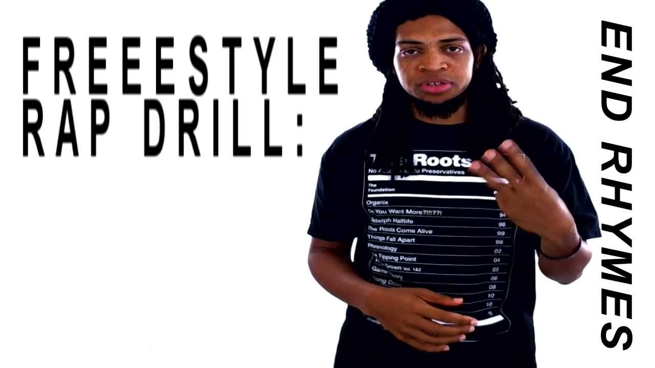 Freestyle Rap Drill:End Rhymes Freestyle Rap Drill