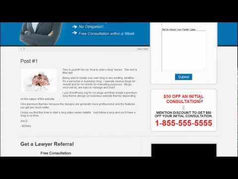 WP Lead Pro Theme Review and Tutorial Video