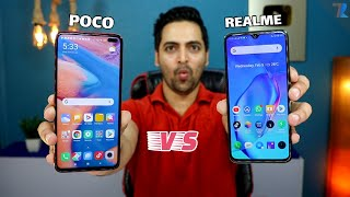 POCO X2 vs Realme X2 - Display,Camera,Performance,Battery,Charging,Heating,Design & More !
