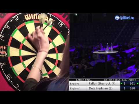 Denmark Masters 2015 - Ladies Final - Fallon Sherrock vs Deta Hedman