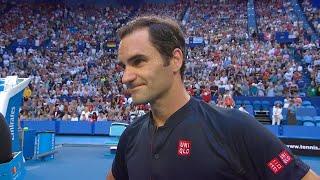 Roger Federer on-court interview (Final) | Mastercard Hopman Cup 2019