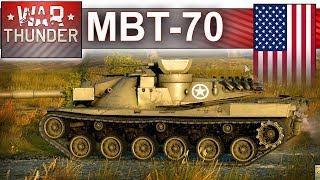 MBT-70 wymiata na realistyku - BITWA - War Thunder