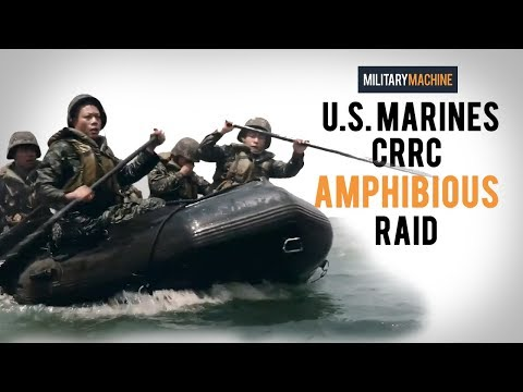 U.S. Marines CRRC Amphibious Raid (Military Machine)