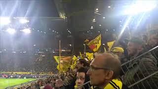 Borussia Dortmund - As Monaco 3:0 Torjubel 1:0 Südtribüne