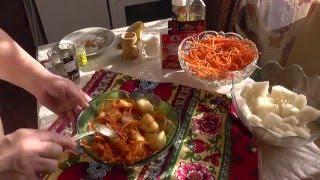 524. Лоба кусочками с морковью по - корейски. Видео рецепт