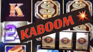 ★Explosion !! JACKPOT on BONUS TIME (3 reel) & Big Win on MEGA VAULT☆Mega Vault Slot Live Play☆彡