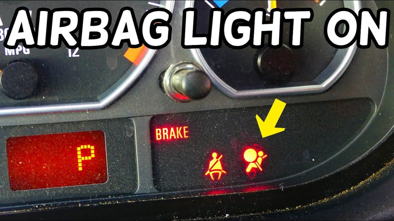 Airbag Light On After Door Panel Window Regulator Replacement