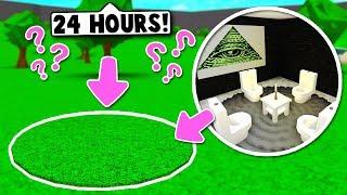 I SPENT 24 HOURS IN A STRANGER'S *SECRET* BASEMENT ON BLOXBURG! (Roblox)
