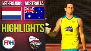 Netherlands v Australia | 2018 Men's Hockey Champions Trophy | HIGHLIGHTS