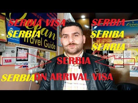 #Visa On Arrival Serbia For Indians, Europe on arrival visa
