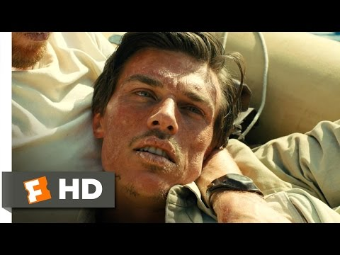 Unbroken 510 Movie CLIP  Am I Gonna Die? 2014 HD