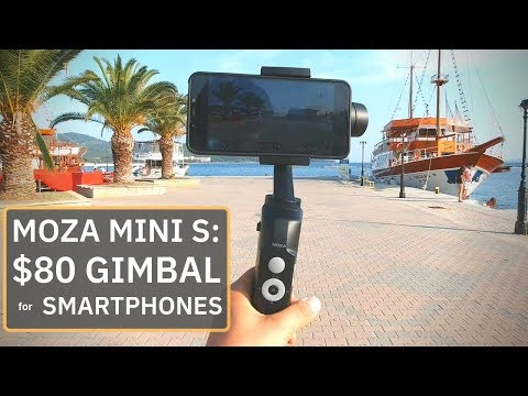 Moza Mini S: Foldable Gimbal for Smartphones that is Budget-Friendly!