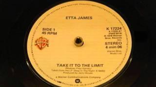 "Etta James ""Take It To The Limit"""