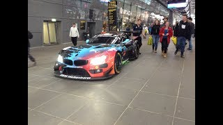 BMW Z4 GT3 Engine Sound at the Nürburgring
