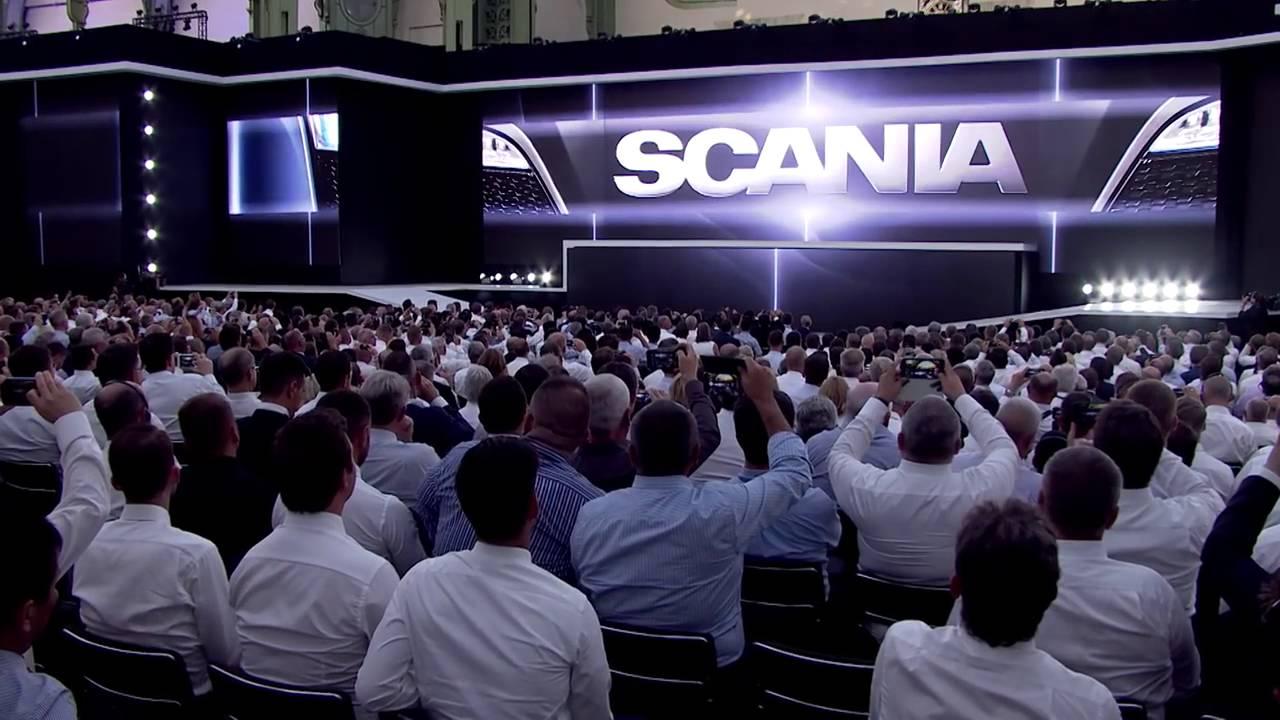 Обзор нового седельного тягача Scania от Авторевю - YouTube