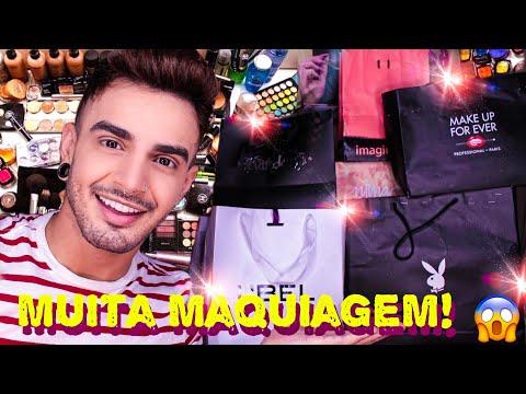 RECEBIDOS DE MUITA MAQUIAGEM!💄|Victor Nogueira