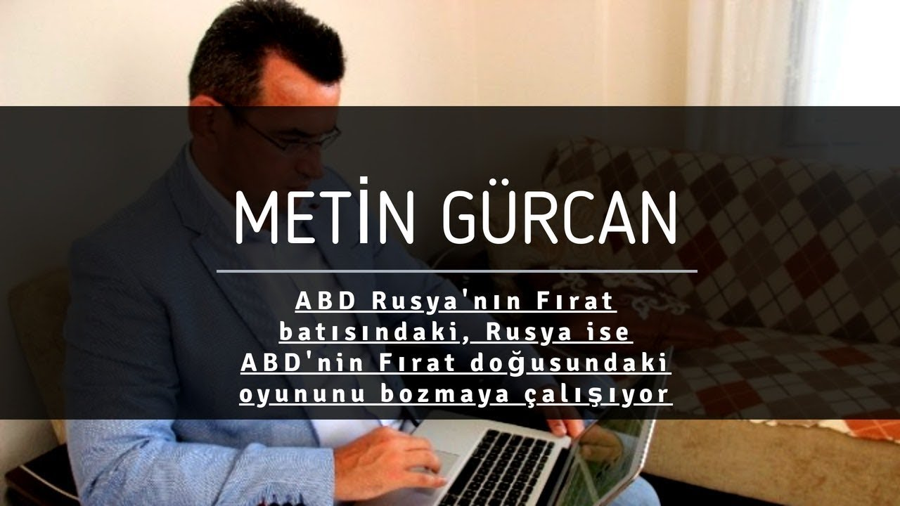 Metin Gürcan: Bir grubun ılımlı sayılması için 3 kriter var 41