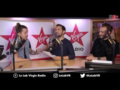 Julien Doré dans Le Lab Virgin Radio - L