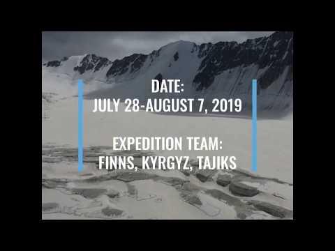 FINKMET expedition to Turgen-Aksu glacier in Kyrgyzstan