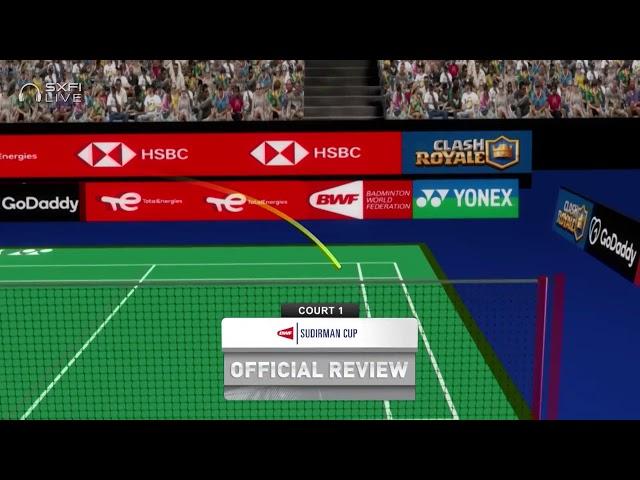 TotalEnergies BWF Sudirman Cup 2021 | Pai Yu Po (TPE) vs Yvonne Li (GER) | Group B