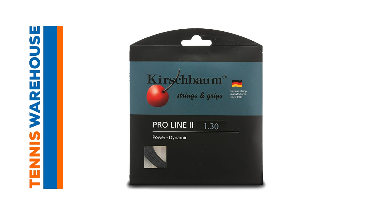 kirschbaum pro line ii string review youtube. Black Bedroom Furniture Sets. Home Design Ideas