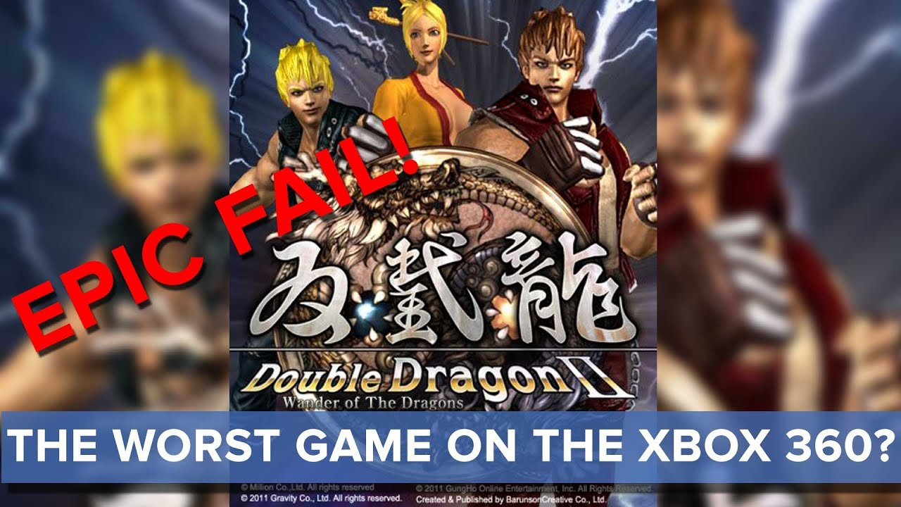 Double Dragon Ii Wander Of The Dragons The Worst Game On The Xbox 360 Eurogamer Youtube