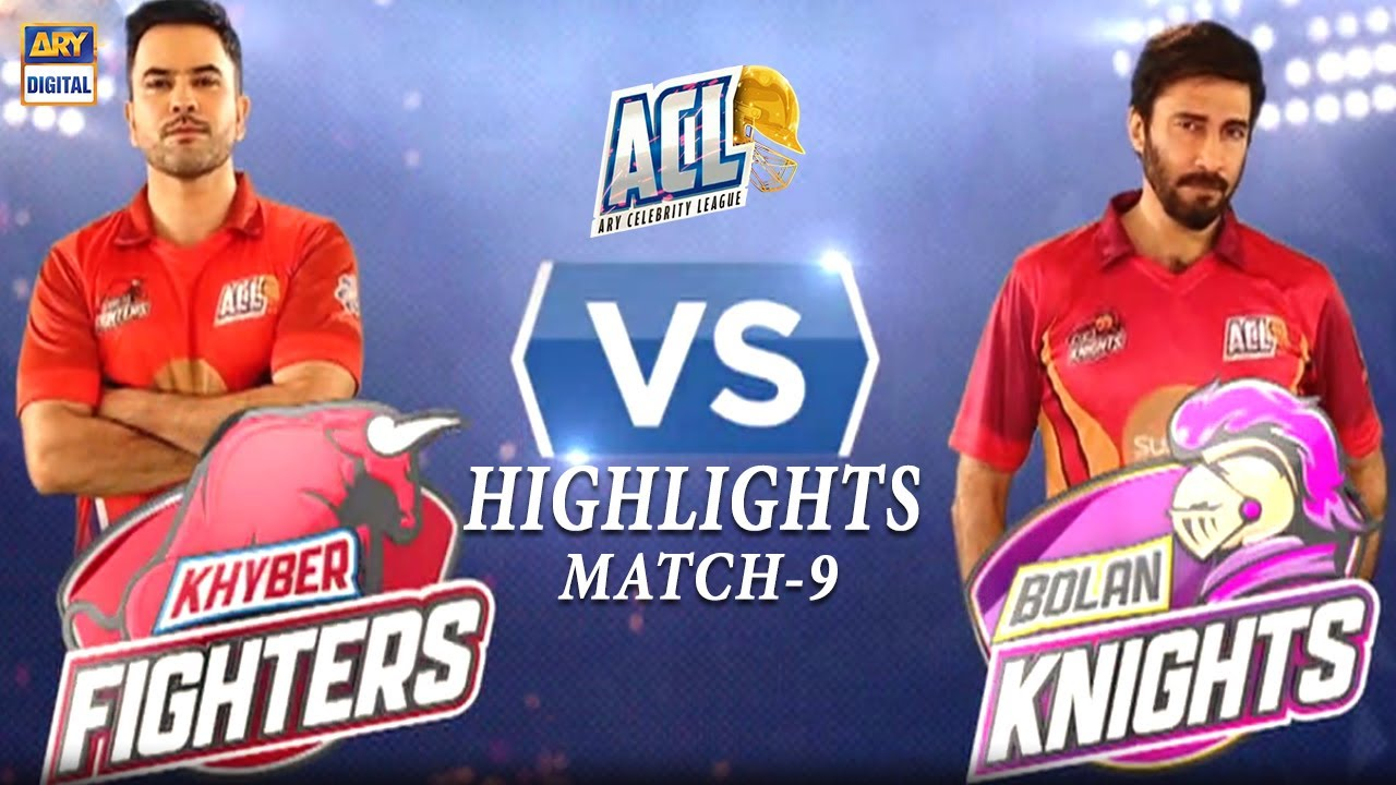 Khyber Fighters vs Bolan Knights - Highlights | ARY Celebrity League