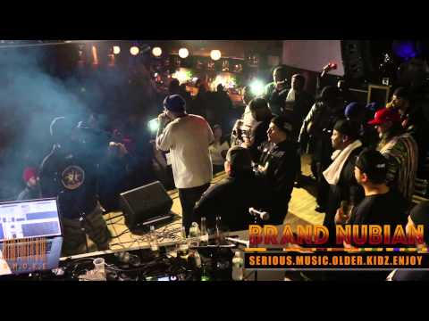 Brand Nubian Live Rah Black S.M.O.K.E SESSIONS Exclusive