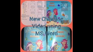 *New* How to make a Chip Bag using Microsoft Word | Make it in MS Word
