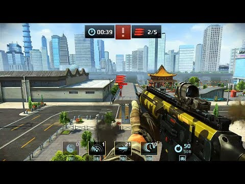 Sniper Fury Top Shooting Game FPS Android Gameplay R2 Shanghai