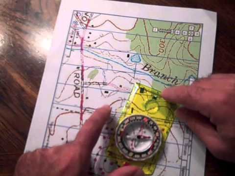 Orienting a Map and Compass