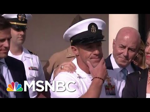 Ex-Top Navy Official Criticizes President Donald Trump Decision | Velshi & Ruhle | MSNBC