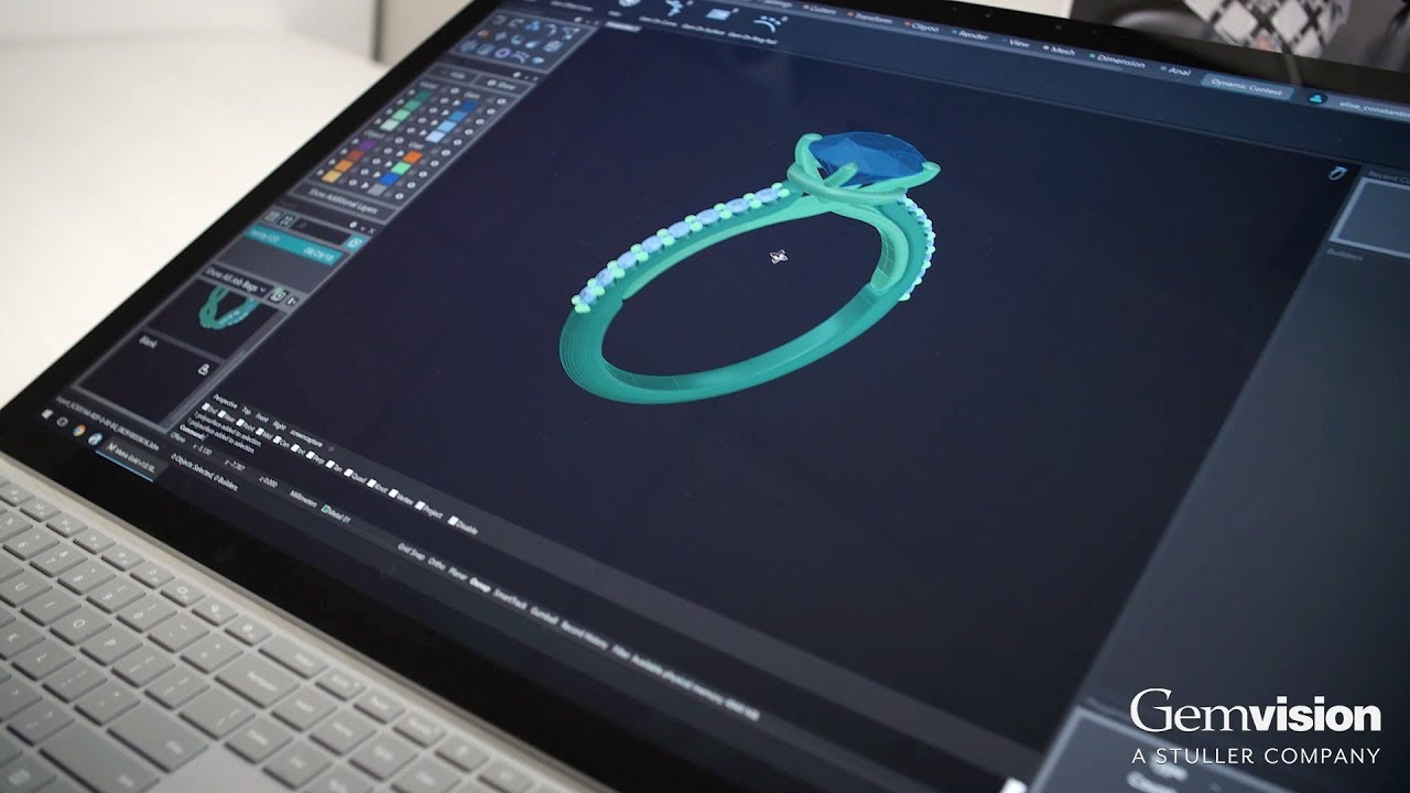 3d Cad Software For Jewelry Design Gemvision