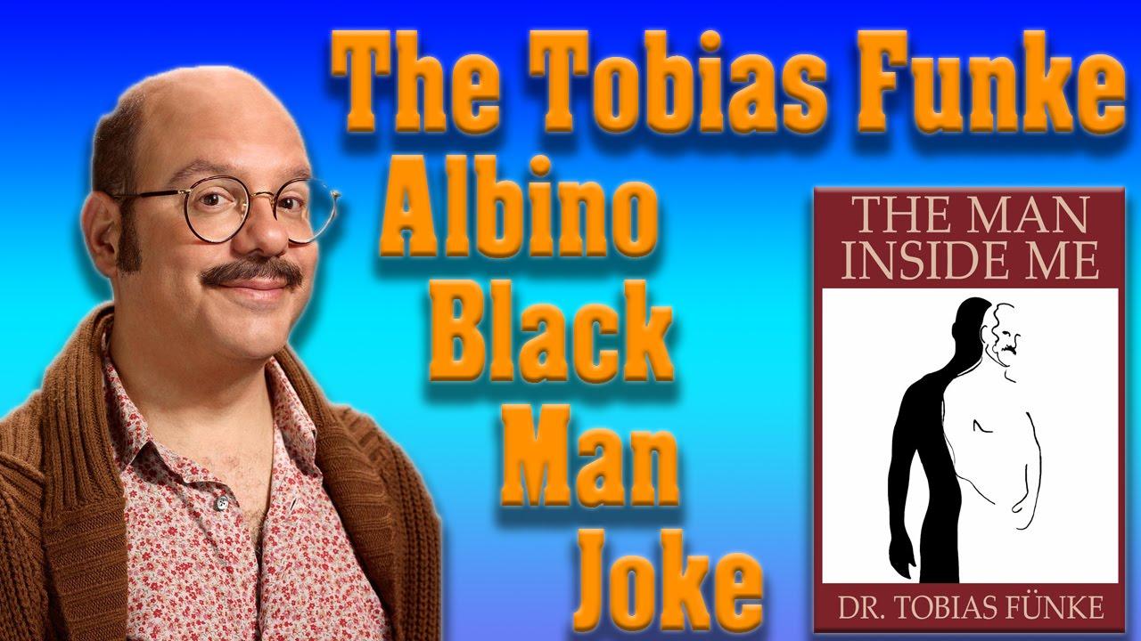 The Tobias Albino Black Man Joke  YouTube