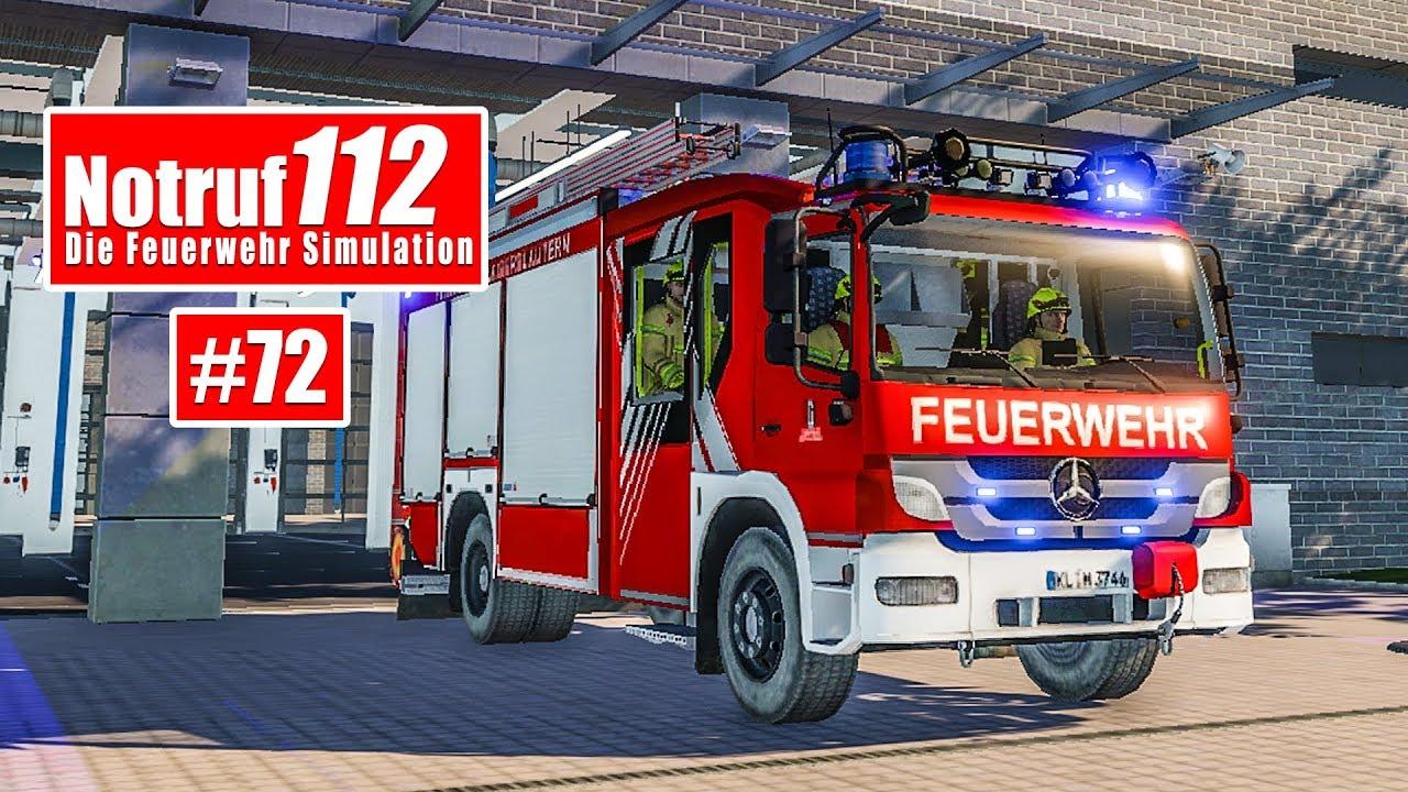 NOTRUF 112 #72: Mit Funk und LF24 zum Verkehrsunfall! I Feuerwehr ...