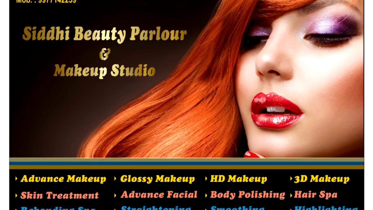 Corel Draw Tutorial How To Make Beauty Parlour Banner Design In Urdu Language By Muhammad Anas By Anas Graphics