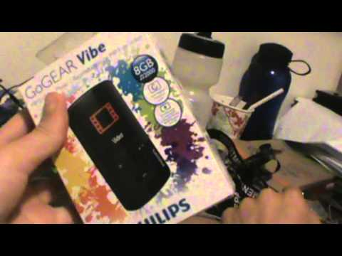 GoGear Vibe MP3 Player Unboxing