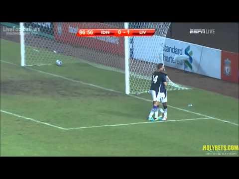 Indonesia XI vs Liverpool 0 - 2 Pre-season Highlights 21.07.2013