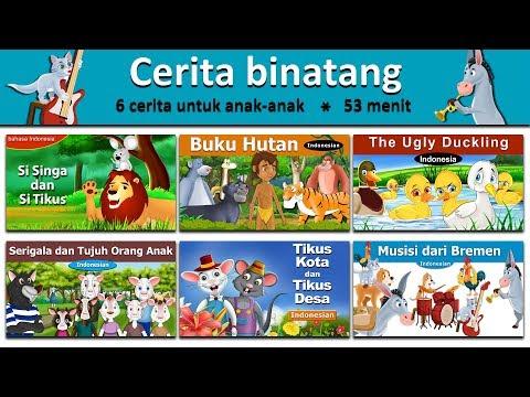 Cerita binatang - Si Singa dan Si Tikus - Buku hutan - Bebek Buruk Rupa - Serigala dan Tujuh Anak