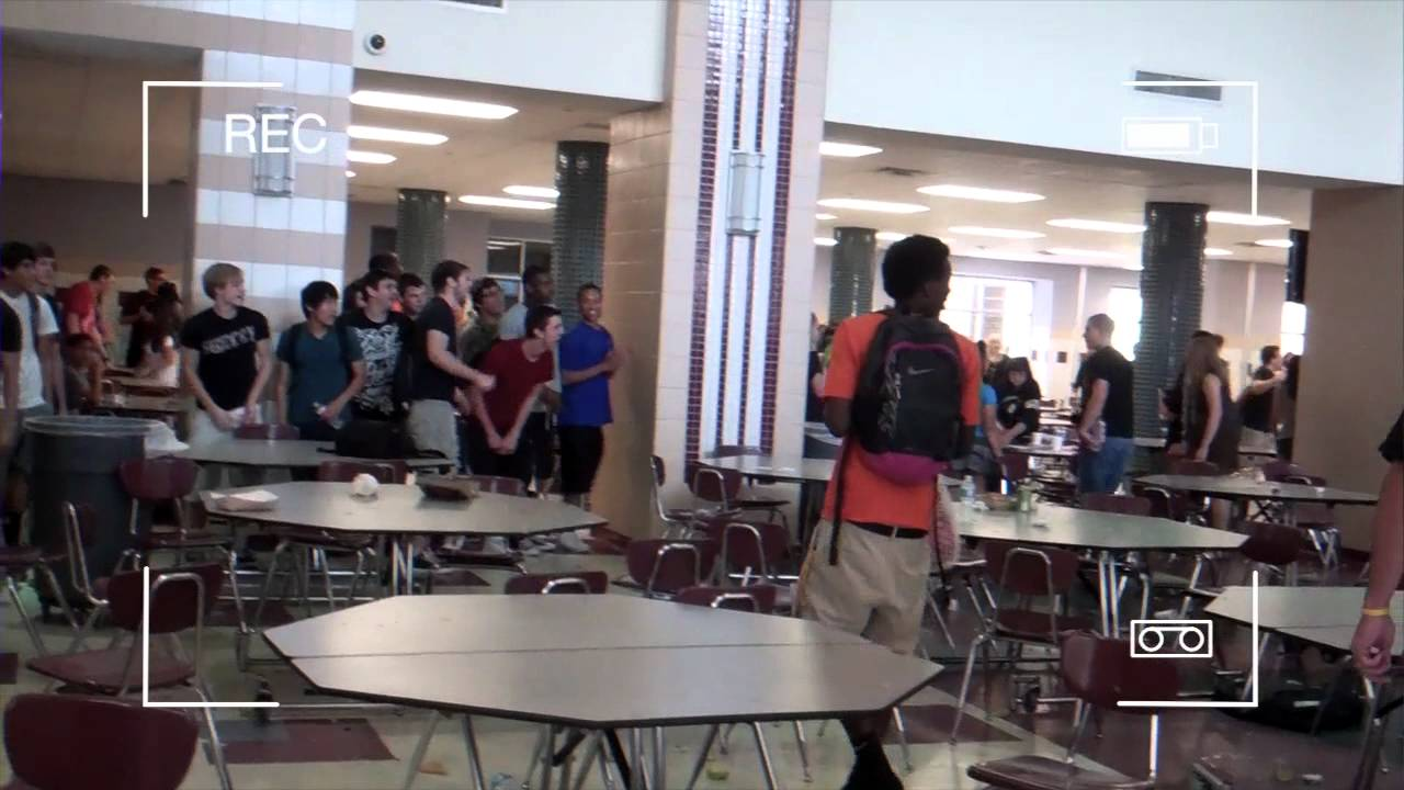 high school lunch table. Central High School Food Fight 2012 Lunch Table E