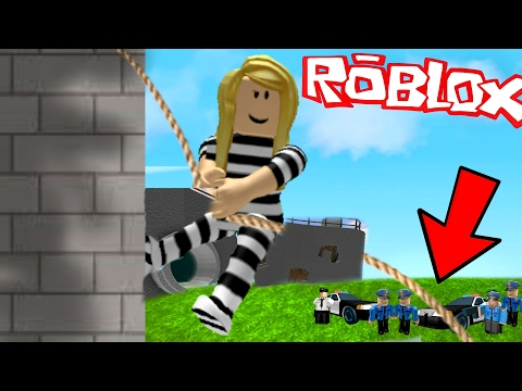 I GOT CAUGHT ESCAPING FROM PRISON!   Roblox Roleplay Prison Escape Obby